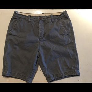 Men's Hollister Grey shorts size 32
